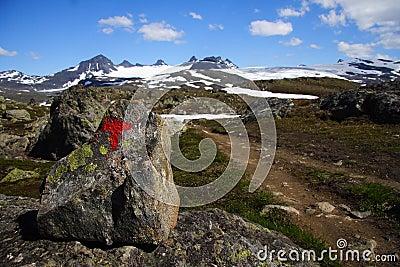 Norway Trail mark