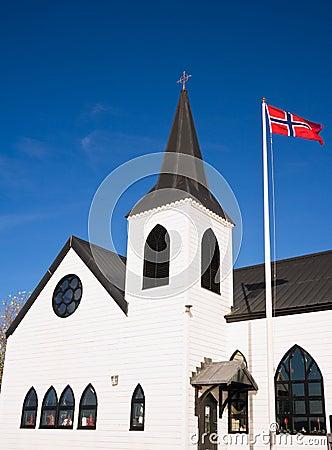 Norwegian Church in Cardiff Bay, Wales
