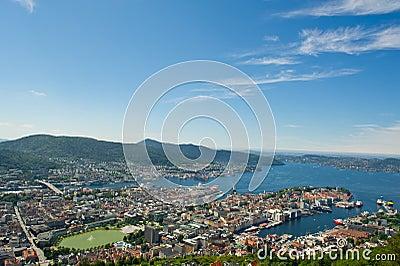 Norwegian city of Bergen.