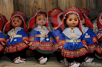 Norwegian dolls