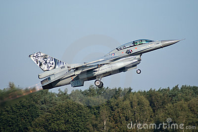 Norwegian F16 Royalty Free Stock Photo - Image: 12910795