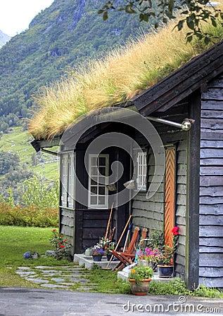 Norwegian house facade