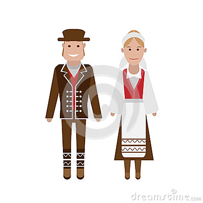 Norwegian national costume