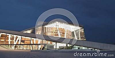 Norwegian National Opera & Ballet Editorial Stock Image