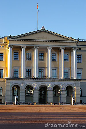 Norwegian palace in Oslo