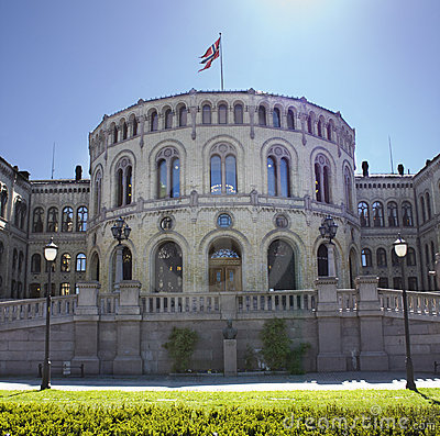 The Norwegian Parliament in Oslo