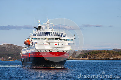 Norwegian passenger cruise ship MS Polarlys Editorial Photo