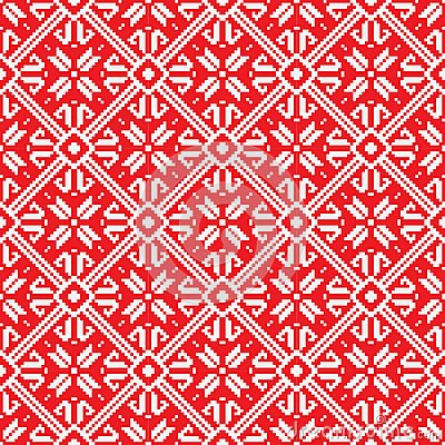 Norwegian pattern, vector Eps 10 illustration