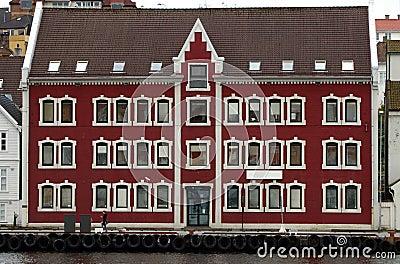 Norwegian port house.