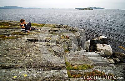 Norwegian sea watching.