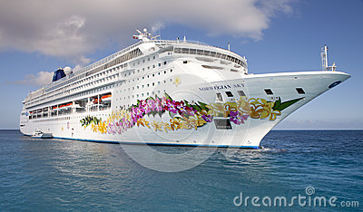 Norwegian Sky Cruiseship Editorial Stock Photo