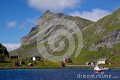 Norwegian village