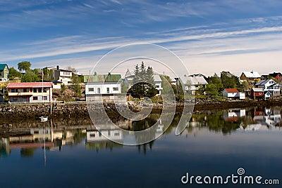 Norwegian village Svolvaer