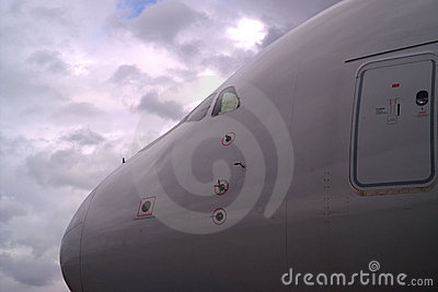 Nose of A380