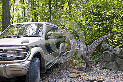The nosey dinosaur