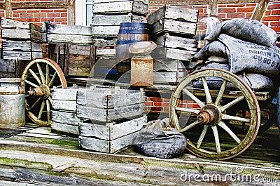 Nostalgia - Farm wagon - HDR