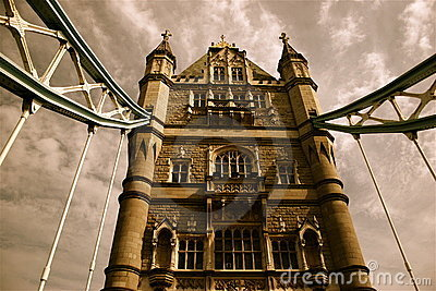 Nostalgic London Tower Bridge