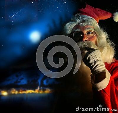 Free Nostalgic Santa Royalty Free Stock Photo - 7197925