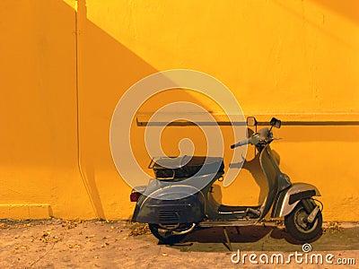 Nostalgisk sparkcykel