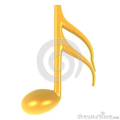 Nota de la música