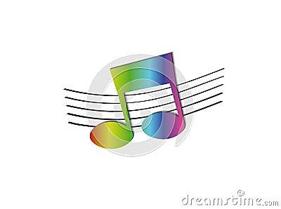 Nota del arco iris