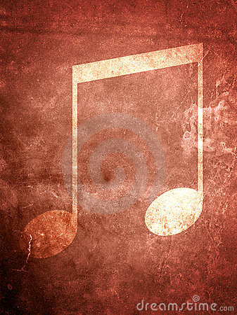 Nota di musica di Grunge