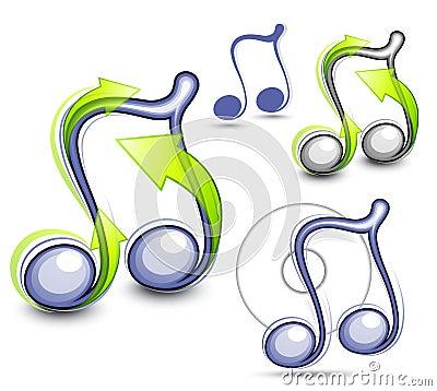 Notas ilustradas da música