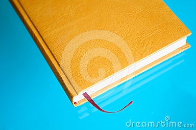 Note-book on the table