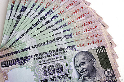 Note indiane di valuta