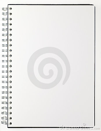 Free Note Pad Spiral Binding Royalty Free Stock Photos - 12667648