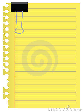 Free Note Paper Royalty Free Stock Photo - 15103365