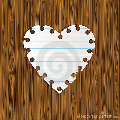Note Paper heart