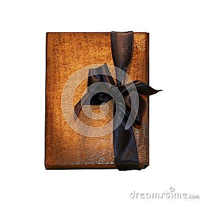 Notebook bow dark