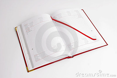 Notebook with Calendar