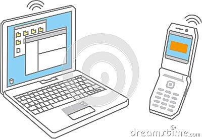 Notebook / ellular phone