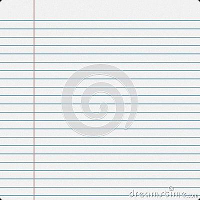 Notebook Filler Paper