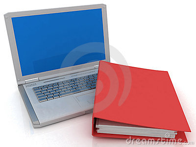 Notebook and folder