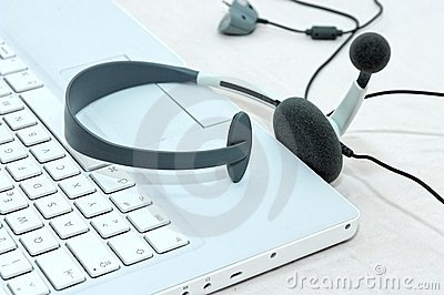 Notebook headset