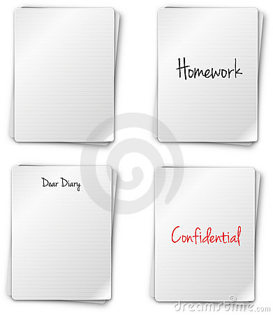 Notebook Pages