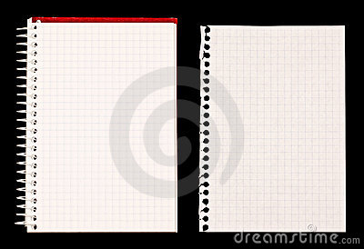 Notebook and Paper Note