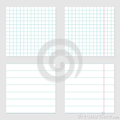 Notebook Paper Texture Cell Lined Template With Red Pink Line Set – Lined Notebook Paper Template