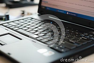Notebook PC keyboard