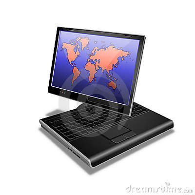 Notebook Tablet PC world