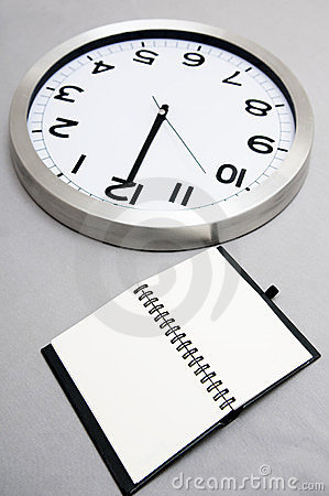 Notebook and time