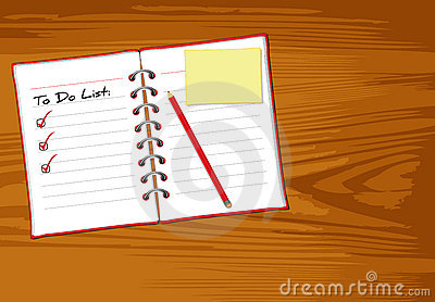 Notebook wood