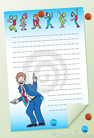 Notepad - Dancing People