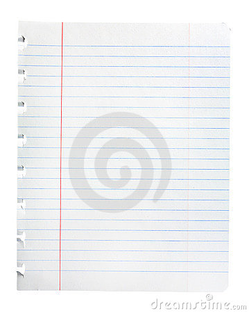 Notepad Paper Sheet