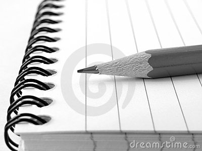 Notepad with pencil 5