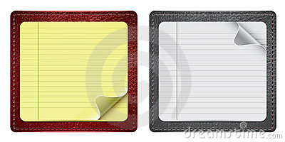 Notepads With Leather