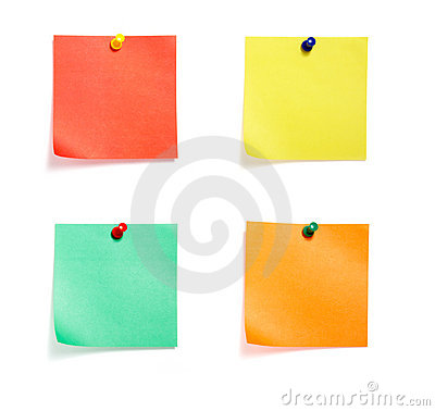 Free Notes Colored Group Stock Photos - 8039093